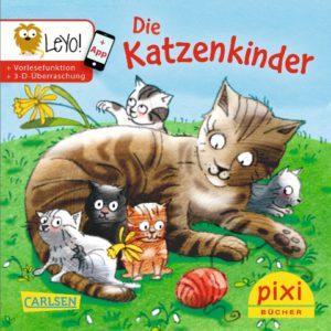 Veröffentlichungen Titelseite vpm Pixi-Buch Die Katzenkinder - Ostern